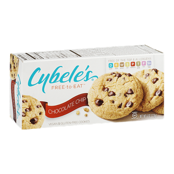 Cybele's Free-To-Eat Vegan & Gluten-Free Cookies Chocolate Chip