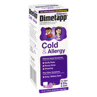 Dimetapp Children's Grape Flavor Cold & Allergy Syrup