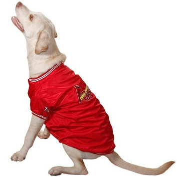 Sporty K9 Cardinals Dugout Jacket for Dogs, X-Small