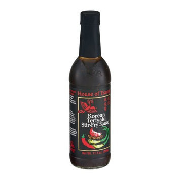 House Of Tsang Stir-Fry Sauce, Korean, Teriyaki, 11.5 OZ (Pack of 6)