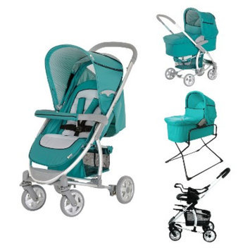 Hauck Malibu All-in-One Stroller Set - Petrol