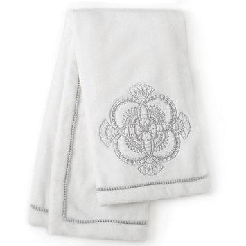 Levtex Baby Willow Medallion Blanket - White