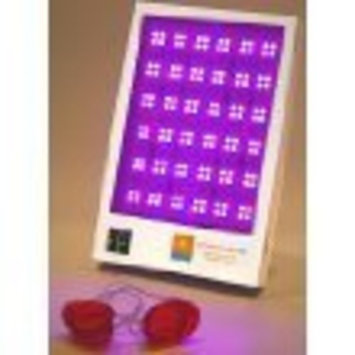 Caribbean Sun Box Red/Blue Acne Treatment light Therapy-Filters 100% of the UV rays