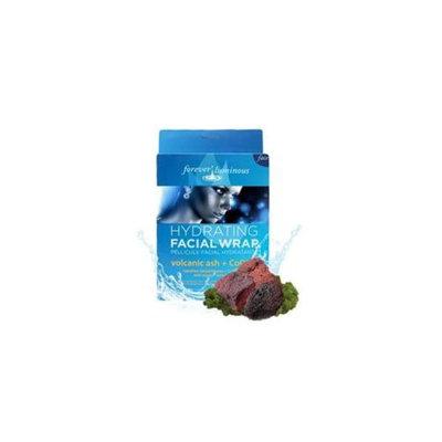 My Spa Life Volcanic Ash Plus Coq10 Facial Pellcule Facial Wraps - 6 Treatments, 2 Pack Of 3