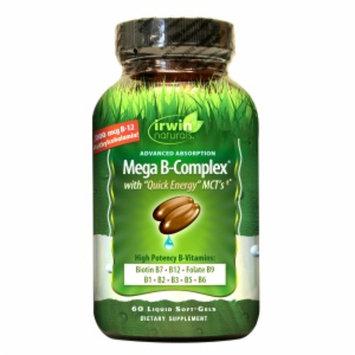 Irwin Naturals Mega B-Complex with Quick Energy