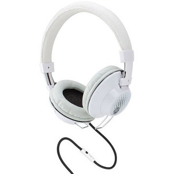 Accessory Power GOgroove AudioLUX OE Stereo Headphones w/ Noise Isolating Over-Ear Design-White