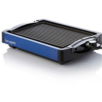 Bon Appetit BARGG010BLU Reversible Grill / Griddle in Blue Finish