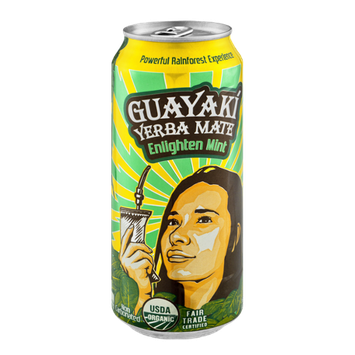 Guayaki Yerba Mate Enlighten Mint Organic