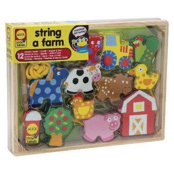 Alex Toys Alex String-A-Farm Wooden Bead Set