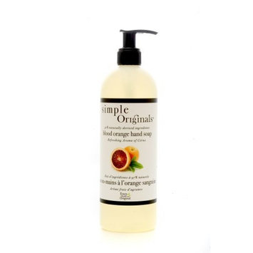 Simple Originals Blood Orange Hand Soap, 16 Ounce