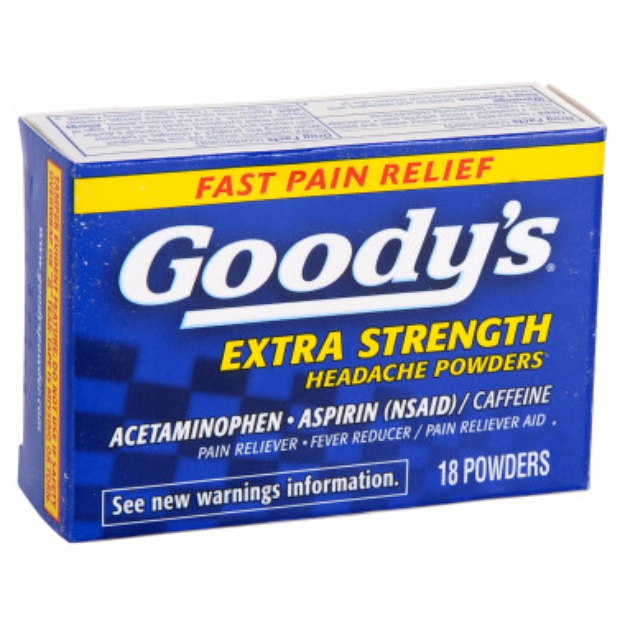Goody's Extra Strength Acetaminophen/Aspirin Powder- 18 ct