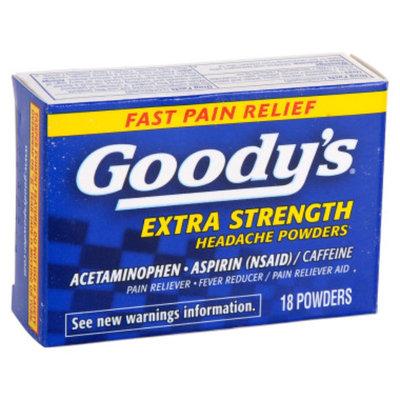 Goody's Extra Strength Acetaminophen/Aspirin Powder- 18 ct