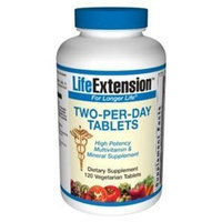 Life Extension - Life Extension Two Per Day 120 Vegetarian Tablets