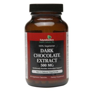 Futurebiotics 100% Vegetarian Dark Chocolate Extract 500mg, Vegetarian Capsules