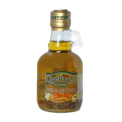 Mantova Grand'Aroma Bruschettata Flavored Extra Virgin Olive Oil 8.5 Oz