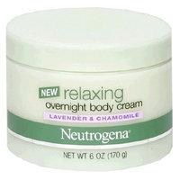 Neutrogena® Relaxing Overnight Body Cream, Lavender and Chamomile