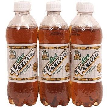 diet Vernors Ginger Soda (ale), zero calorie original
