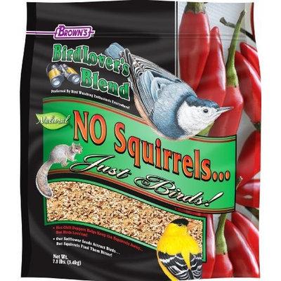F.M.BROWN'S F.M. Brown's Bird Lover's Blend No Squirrel Just Birds, 7-1/2-Pound