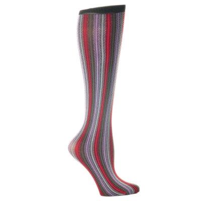 Celeste Stein Stripe 8-15 mmhg Compression Sock