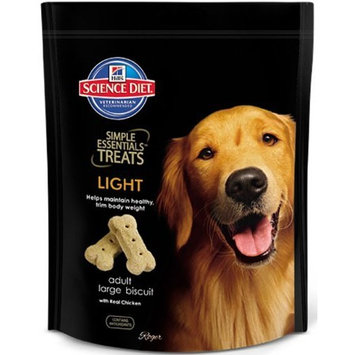 Hill's Science Diet  Hill's Science Diet Simple Essentials Adult Light Large Biscuit Treats with Real Chicken - 28.2-Ounce Bag