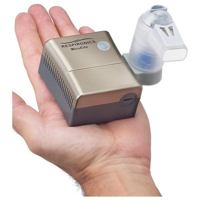 Philips Respironics MicroElite Nebulizer System With Rechargeable Battery
