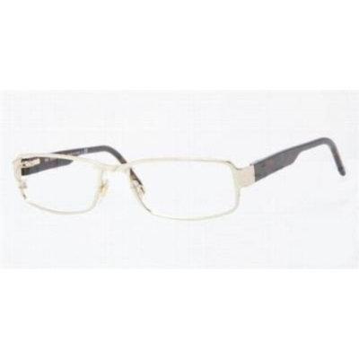 BURBERRY Eyeglasses BE 1195 1002 Burberry Gold 53MM