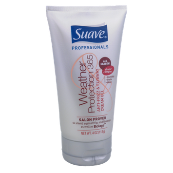 Suave Professionals Weather Protection 365 Anti-Frizz & Flyaway Cream Gel