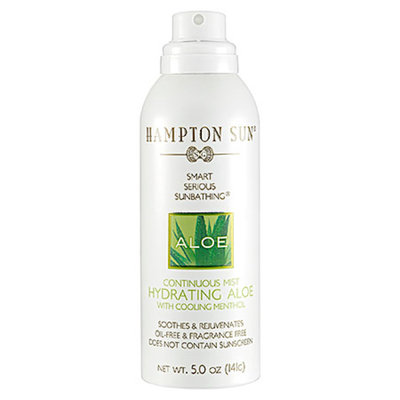 Hampton Sun Continuous Mist Hydrating Aloe  5 oz
