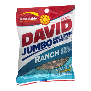 David Jumbo Sunflower Seeds Ranch