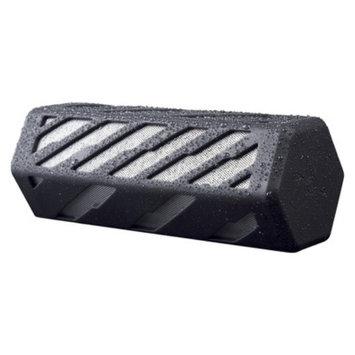 Merkury Innovations Merkury Rockon Bluetooth Portable Speaker - Silver/Black (UB-SPB80-