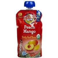 Earth's Best 2nd Foods Purees - Peach Mango - 4 oz - 6 pk