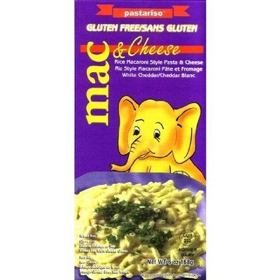 Pastariso Rice Mac and White Cheese (Elephant), 6-Ounce (Pack of 6)