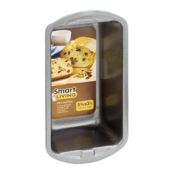 Smart Living 5-3/4x3in Mini Loaf Pan