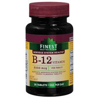 Finest Nutrition B12 5000 Mcg Tablets