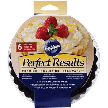 Wilton Perfect Results Round Tart/Quiche Pan 4