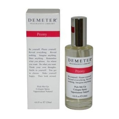 Demeter Unisex Cologne Spray, Peony, 4 Ounce