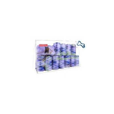 Best Pet Supplies AGP-3601 Argyle Purple - 24Rolls-Bag