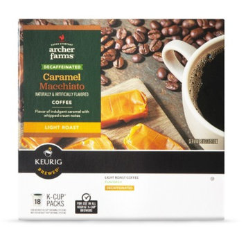 Archer Farms K-Cups Caramel Macchiato Decaf 18ct