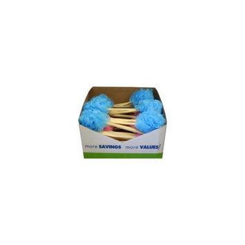 Bulk Buys Body scrubber with wood handle Case Of 36