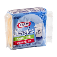 Kraft Singles Skim Milk American Cheese Slices - 16 CT