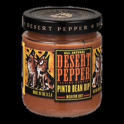 Desert Pepper Trading Company Pinto Bean Dip Medium Hot