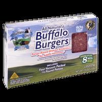 The Buffalo Guys Ground Buffalo Burgers 1/4 lb ea