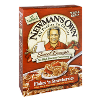 Newman's Own All Natural Flakes 'n Strawberries Cereal