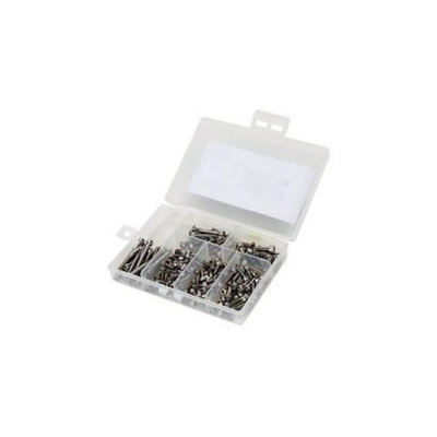 Stainless Steel Screw Set: TLR 8ight 3.0 buggy