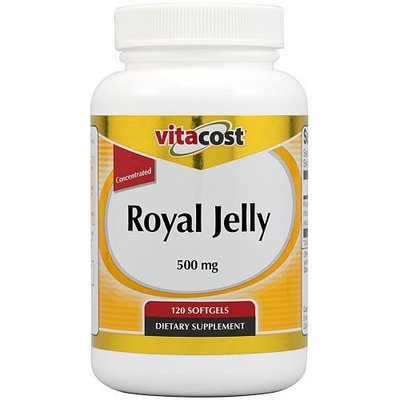 Vitacost Brand Vitacost Royal Jelly Concentrated -- 500 mg - 120 Softgels