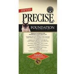 Precise Pet Precise Feline Foundation Chicken Natural Formula Dry Cat Food