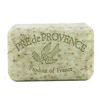 Pre De Provence Pre' de Provence Soap Shea Enriched Everyday Quad Milled French Soap Bar, Mint Leaf, 150 Gram