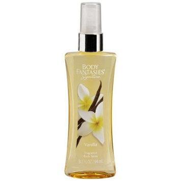 Body Fantasies Signature Vanilla Fragrance Body Spray, 3.2 fl oz