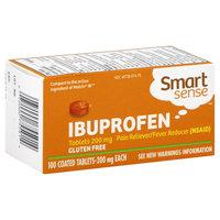 Kmart Corporation Smart Sense Ibuprofen, 200 mg, Coated Caplets, 100 tablets