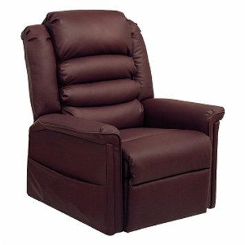 Quest Dexter Lift Chair, Merlot, 1 ea